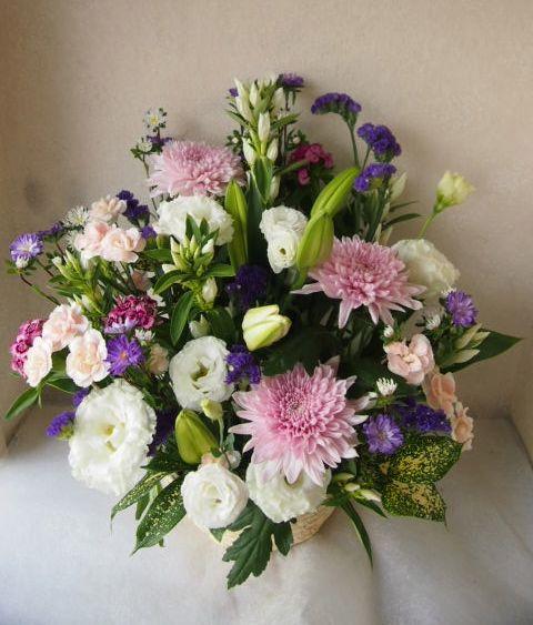 花ギフト|フラワーギフト|誕生日 花|カノシェ話題|スタンド花|ウエディングブーケ|花束|花屋|57712