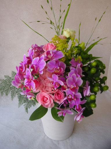 花ギフト|フラワーギフト|誕生日 花|カノシェ話題|スタンド花|ウエディングブーケ|花束|花屋|56058