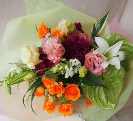 花ギフト|フラワーギフト|誕生日 花|カノシェ話題|スタンド花|ウエディングブーケ|花束|花屋|47429