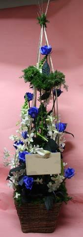 花ギフト|フラワーギフト|誕生日 花|カノシェ話題|スタンド花|ウエディングブーケ|花束|花屋|青バラ デンファレ