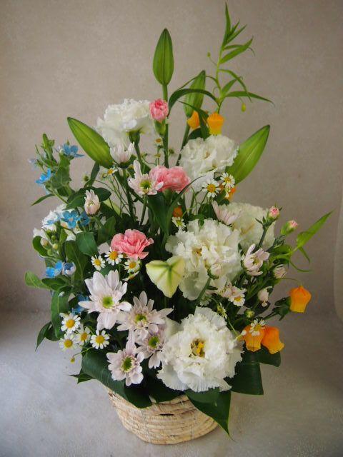 花ギフト|フラワーギフト|誕生日 花|カノシェ話題|スタンド花|ウエディングブーケ|花束|花屋|57046