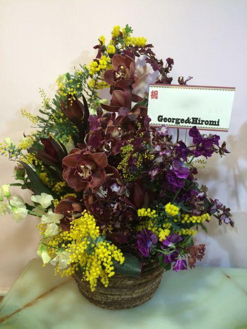 花ギフト|フラワーギフト|誕生日 花|カノシェ話題|スタンド花|ウエディングブーケ|花束|花屋|IMG_9133