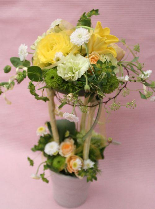 花ギフト|フラワーギフト|誕生日 花|カノシェ話題|スタンド花|ウエディングブーケ|花束|花屋|IMG_0940