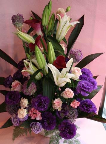 花ギフト|フラワーギフト|誕生日 花|カノシェ話題|スタンド花|ウエディングブーケ|花束|花屋|kayokosanmurasaki