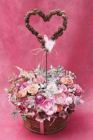 花ギフト|フラワーギフト|誕生日 花|カノシェ話題|スタンド花|ウエディングブーケ|花束|花屋|2015_xmas_a4