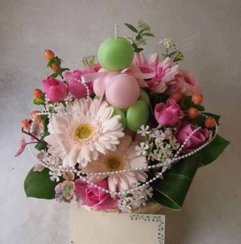 花ギフト|フラワーギフト|誕生日 花|カノシェ話題|スタンド花|ウエディングブーケ|花束|花屋|54292