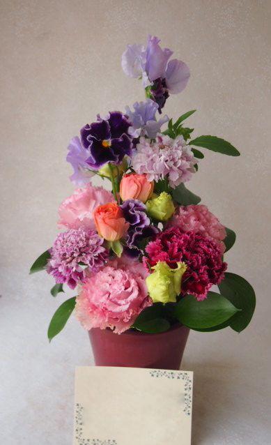 花ギフト|フラワーギフト|誕生日 花|カノシェ話題|スタンド花|ウエディングブーケ|花束|花屋|54347