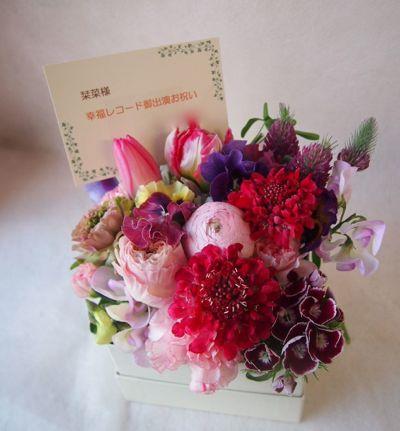 花ギフト|フラワーギフト|誕生日 花|カノシェ話題|スタンド花|ウエディングブーケ|花束|花屋|38474