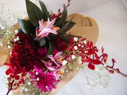 花ギフト|フラワーギフト|誕生日 花|カノシェ話題|スタンド花|ウエディングブーケ|花束|花屋|57964