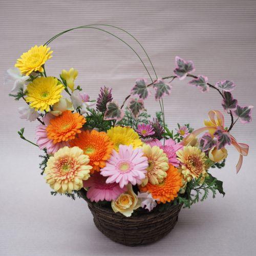 花ギフト|フラワーギフト|誕生日 花|カノシェ話題|スタンド花|ウエディングブーケ|花束|花屋|PB090482