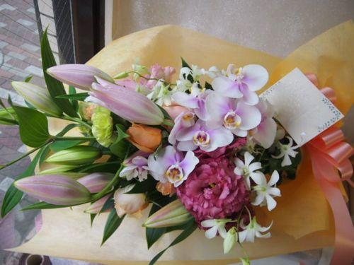 花ギフト|フラワーギフト|誕生日 花|カノシェ話題|スタンド花|ウエディングブーケ|花束|花屋|49048