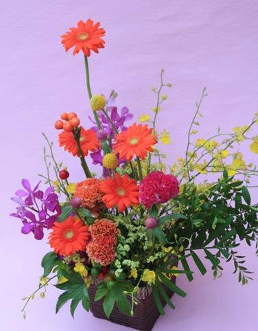 花ギフト|フラワーギフト|誕生日 花|カノシェ話題|スタンド花|ウエディングブーケ|花束|花屋|2015_keiro_a_3