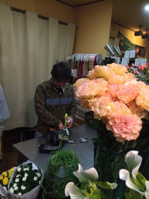 花ギフト|フラワーギフト|誕生日 花|カノシェ話題|スタンド花|ウエディングブーケ|花束|花屋|IMG_7014
