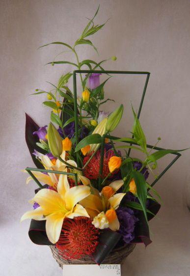 花ギフト|フラワーギフト|誕生日 花|カノシェ話題|スタンド花|ウエディングブーケ|花束|花屋|40896
