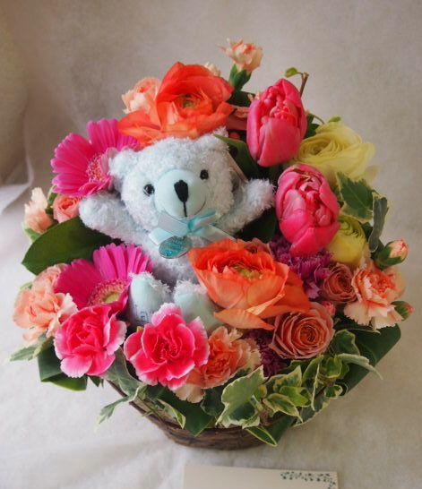 花ギフト|フラワーギフト|誕生日 花|カノシェ話題|スタンド花|ウエディングブーケ|花束|花屋|46167