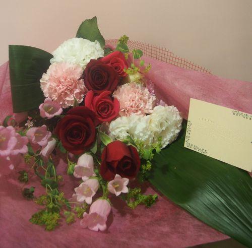 花ギフト|フラワーギフト|誕生日 花|カノシェ話題|スタンド花|ウエディングブーケ|花束|花屋|55823