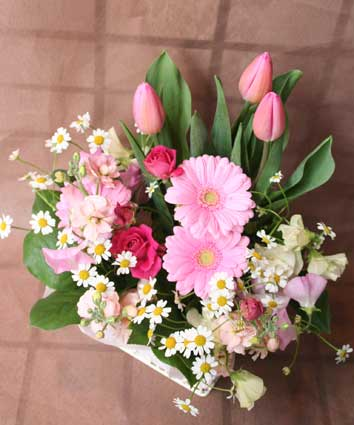 花ギフト|フラワーギフト|誕生日 花|カノシェ話題|スタンド花|ウエディングブーケ|花束|花屋|タム1