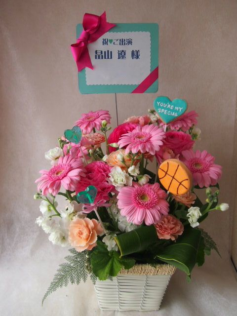 花ギフト|フラワーギフト|誕生日 花|カノシェ話題|スタンド花|ウエディングブーケ|花束|花屋|46076