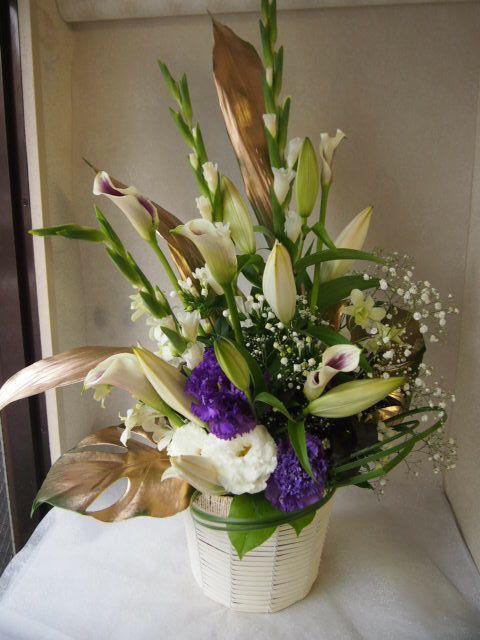 花ギフト|フラワーギフト|誕生日 花|カノシェ話題|スタンド花|ウエディングブーケ|花束|花屋|57519(1)