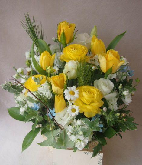 花ギフト|フラワーギフト|誕生日 花|カノシェ話題|スタンド花|ウエディングブーケ|花束|花屋|46926