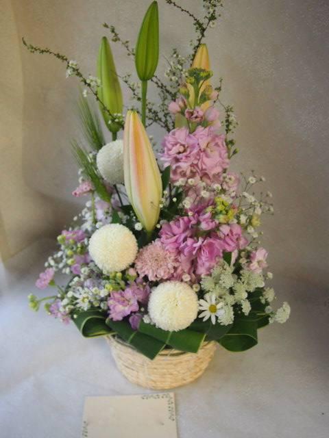 花ギフト|フラワーギフト|誕生日 花|カノシェ話題|スタンド花|ウエディングブーケ|花束|花屋|53011