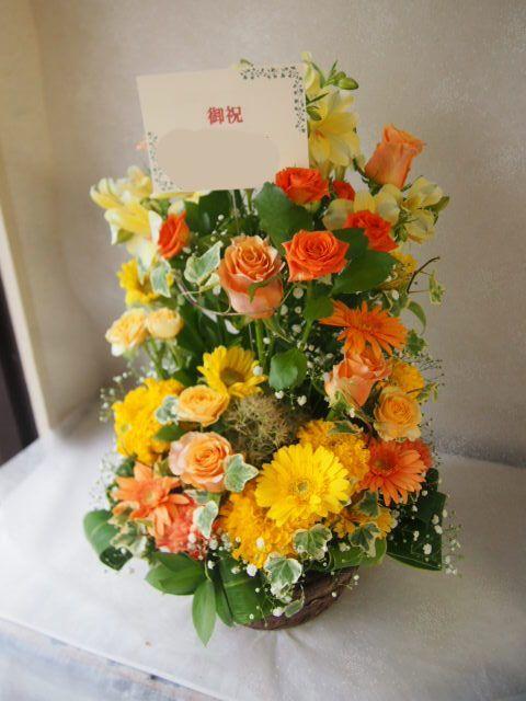 花ギフト|フラワーギフト|誕生日 花|カノシェ話題|スタンド花|ウエディングブーケ|花束|花屋|56646