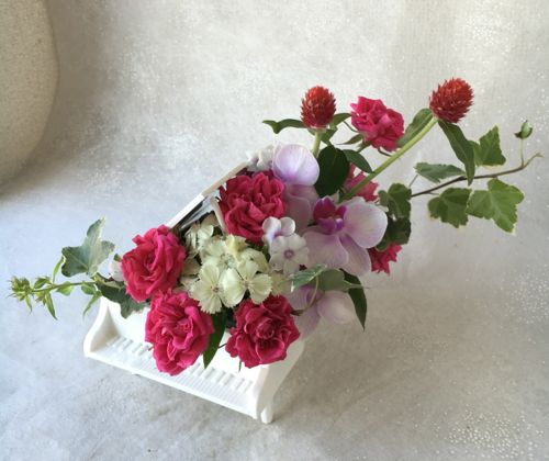 花ギフト|フラワーギフト|誕生日 花|カノシェ話題|スタンド花|ウエディングブーケ|花束|花屋|IMG_2786