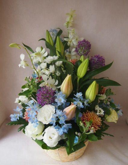 花ギフト|フラワーギフト|誕生日 花|カノシェ話題|スタンド花|ウエディングブーケ|花束|花屋|41106