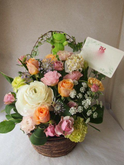 花ギフト|フラワーギフト|誕生日 花|カノシェ話題|スタンド花|ウエディングブーケ|花束|花屋|54796