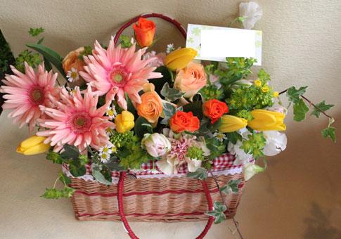 花ギフト|フラワーギフト|誕生日 花|カノシェ話題|スタンド花|ウエディングブーケ|花束|花屋|春の森