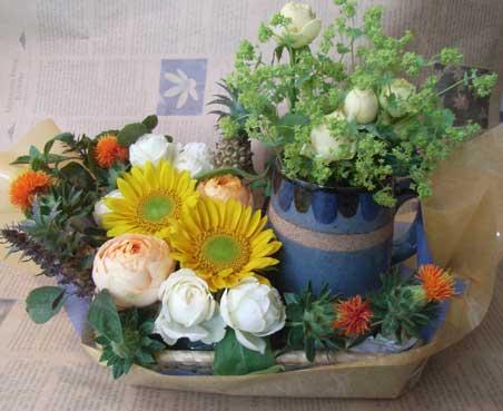 花ギフト|フラワーギフト|誕生日 花|カノシェ話題|スタンド花|ウエディングブーケ|花束|花屋|ビール