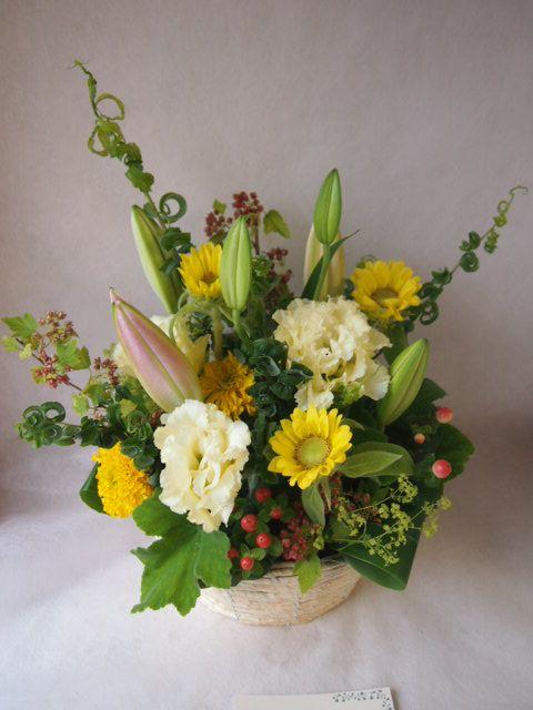 花ギフト|フラワーギフト|誕生日 花|カノシェ話題|スタンド花|ウエディングブーケ|花束|花屋|P7045617(1)