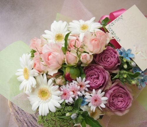 花ギフト|フラワーギフト|誕生日 花|カノシェ話題|スタンド花|ウエディングブーケ|花束|花屋|47283