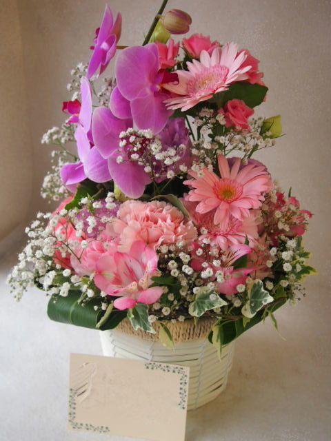花ギフト|フラワーギフト|誕生日 花|カノシェ話題|スタンド花|ウエディングブーケ|花束|花屋|49059