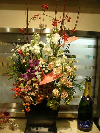 花ギフト|フラワーギフト|誕生日 花|カノシェ話題|スタンド花|ウエディングブーケ|花束|花屋|S-5