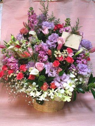 花ギフト|フラワーギフト|誕生日 花|カノシェ話題|スタンド花|ウエディングブーケ|花束|花屋|43851