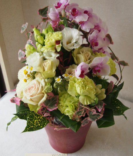 花ギフト|フラワーギフト|誕生日 花|カノシェ話題|スタンド花|ウエディングブーケ|花束|花屋|57111