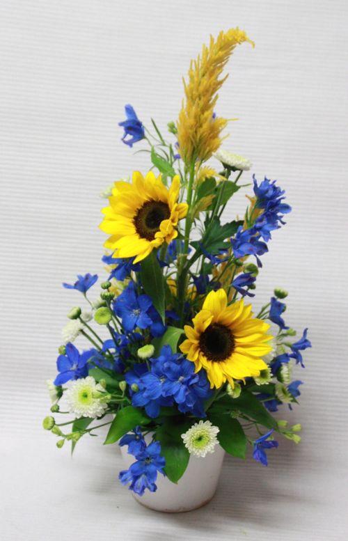 花ギフト|フラワーギフト|誕生日 花|カノシェ話題|スタンド花|ウエディングブーケ|花束|花屋|IMG_3849