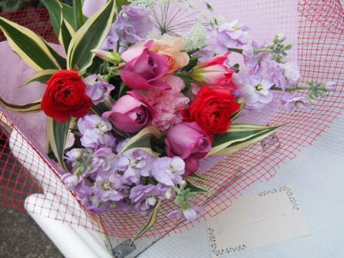 花ギフト|フラワーギフト|誕生日 花|カノシェ話題|スタンド花|ウエディングブーケ|花束|花屋|53118