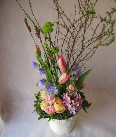 花ギフト|フラワーギフト|誕生日 花|カノシェ話題|スタンド花|ウエディングブーケ|花束|花屋|38774