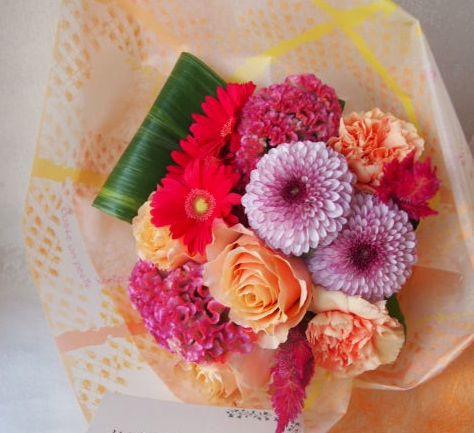 花ギフト|フラワーギフト|誕生日 花|カノシェ話題|スタンド花|ウエディングブーケ|花束|花屋|50713