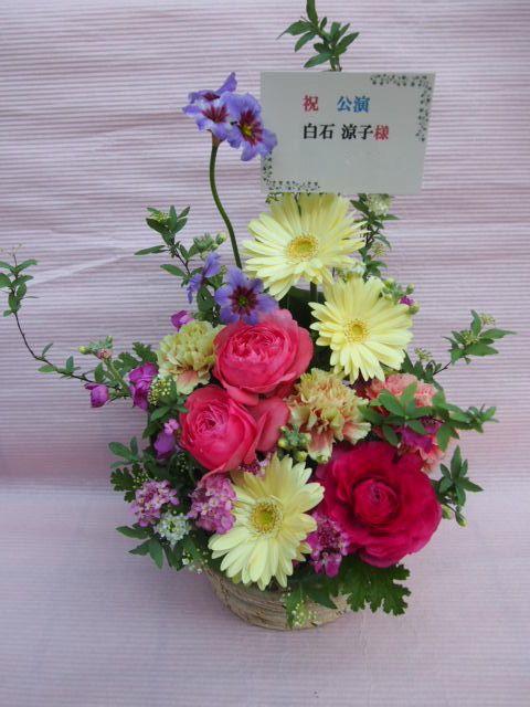 花ギフト|フラワーギフト|誕生日 花|カノシェ話題|スタンド花|ウエディングブーケ|花束|花屋|53649