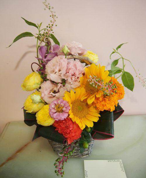 花ギフト|フラワーギフト|誕生日 花|カノシェ話題|スタンド花|ウエディングブーケ|花束|花屋|56817