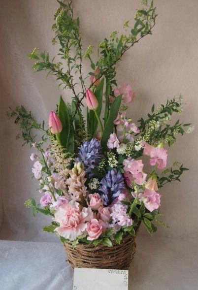 花ギフト|フラワーギフト|誕生日 花|カノシェ話題|スタンド花|ウエディングブーケ|花束|花屋|46156