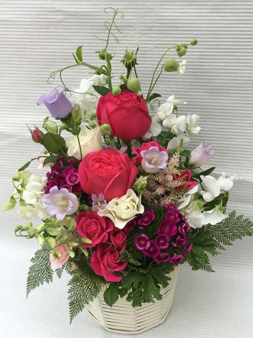 花ギフト|フラワーギフト|誕生日 花|カノシェ話題|スタンド花|ウエディングブーケ|花束|花屋|IMG_0843