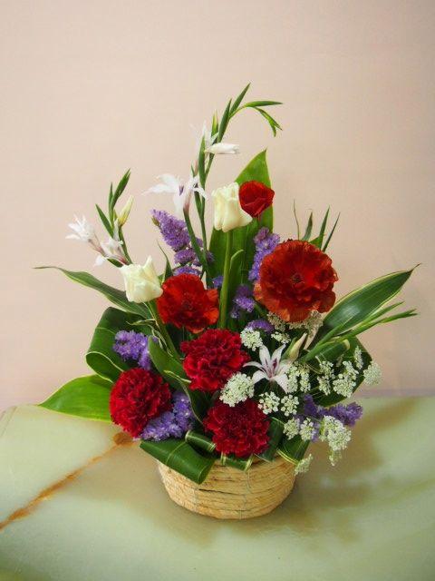 花ギフト|フラワーギフト|誕生日 花|カノシェ話題|スタンド花|ウエディングブーケ|花束|花屋|54047-3