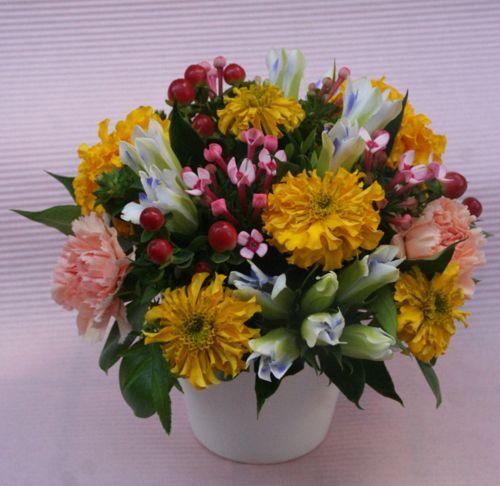 花ギフト|フラワーギフト|誕生日 花|カノシェ話題|スタンド花|ウエディングブーケ|花束|花屋|IMG_1787
