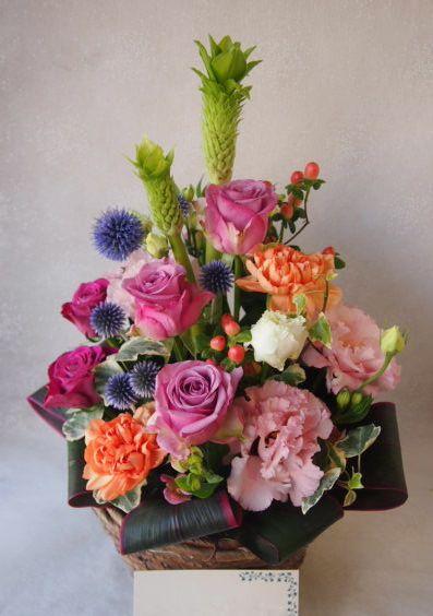 花ギフト|フラワーギフト|誕生日 花|カノシェ話題|スタンド花|ウエディングブーケ|花束|花屋|49399