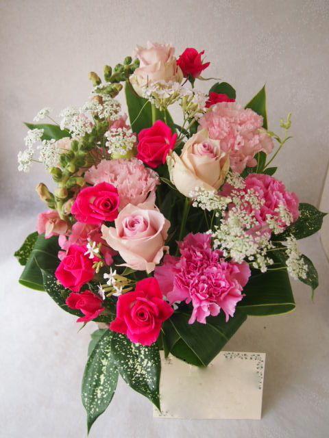 花ギフト|フラワーギフト|誕生日 花|カノシェ話題|スタンド花|ウエディングブーケ|花束|花屋|54811