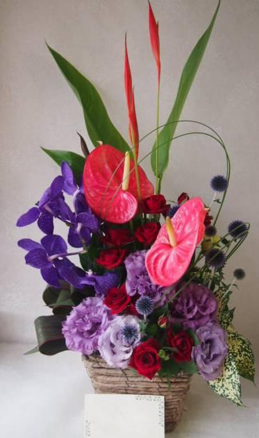 花ギフト|フラワーギフト|誕生日 花|カノシェ話題|スタンド花|ウエディングブーケ|花束|花屋|49157